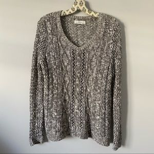 Grey Abercrombie & fitch sweater